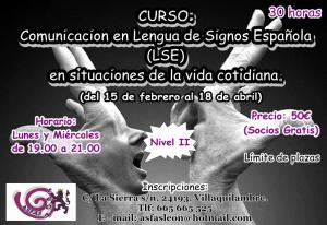 1. Curso LSE nivel II